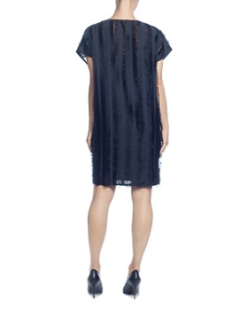 CATHERINE Catherine Malandrino - Short-Sleeve Fringe Shift Dress