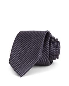 Ted Baker Textured Solid Silk Skinny Tie - Bloomingdale's_0