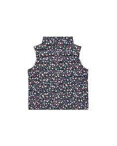Ralph Lauren - Girls' Floral Puffer Vest - Little Kid