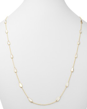 """IPPOLITA - 18K Yellow Gold Rock Candy Mother-Of-Pearl Station Necklace, 37"""""""