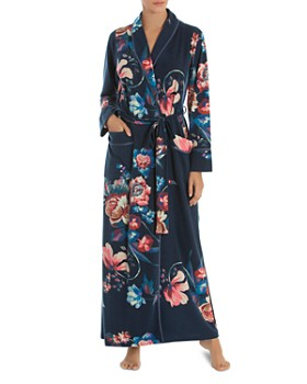 Jonquil - Floral French Terry Long Robe