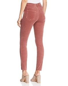 J Brand - Maria Skinny Velvet Jeans in Warm Sable