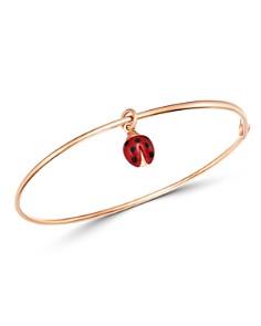 Dodo - Ladybug Charm Bangle Bracelet