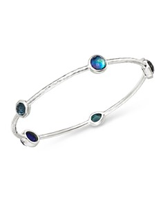 IPPOLITA - Sterling Silver Rock Candy Eclipse Five-Stone Bangle Bracelet