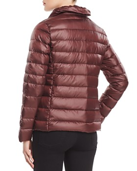 Via Spiga - Packable Ruffled Collar Down Coat