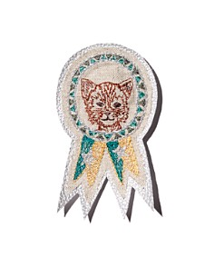 Coral & Tusk - Cat Embroidered Badge