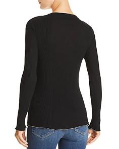 AQUA - Chain-Trim Sweater - 100% Exclusive