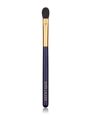 What It Is: A long, tapered brush that blends and softens eyeshadow. What It Does: Blend like a pro. This long, tapered brush expertly blends and softens shadow from outside to inside corner. Gives you a seamless, polished look. Designed with direction from top makeup artists around the globe. Manufactured and precision-trimmed with meticulous care. Wooden handles are short and lightweight, allowing for even, effortless application. How To Use It: Caring for your brushes: - We recommend you clea