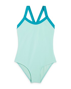 Splendid - Girls' Color-Blocked Swimsuit - Big Kid