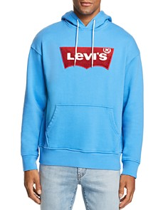 Levi's - Logo-Print Hooded Sweatshirt - 100% Exclusive
