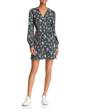 115eedf1f67c Lost and Wander - Floral-Print Wrap Dress - 100% Exclusive ...