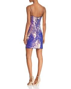 Aidan by Aidan Mattox - Sequined Mini Dress