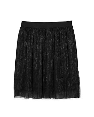 Miss Behave Girls Seanna Metallic Mesh Skirt  Big Kid