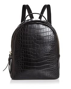 AQUA - Mini Croc-Embossed Backpack - 100% Exclusive