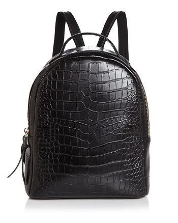 AQUA - Mini Croc-Embossed Backpack - 100% Exclusive