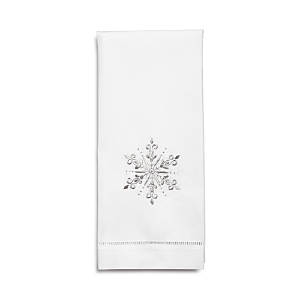 Henri Handwork Snowflake Guest Towel