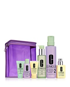 Clinique - Great Skin Home and Away Gift Set For Drier Skin ($97 value)
