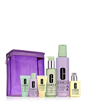 Clinique Great Skin Home and Away Gift Set For Drier Skin ($97 value)