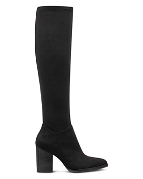 Marc Fisher LTD. - Women's Anata 2 Round Toe Tall Suede High-Heel Boots