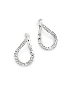 Bloomingdale's Diamond Front-to-Back Earrings in 14K White Gold, 0.60 ct. t.w. - 100% Exclusive