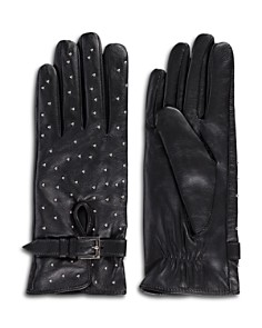 The Kooples - Studded Leather Gloves