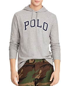 Polo Ralph Lauren - Logo Appliqué Hooded Jersey Tee