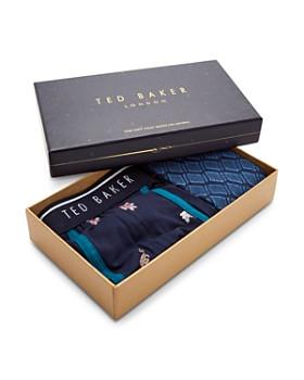 Ted Baker - Tree Boxer & Sock Gift Set