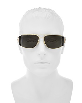 Versace Collection - Men's Brow Bar Square Sunglasses, 63mm