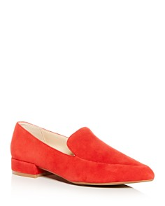 Kenneth Cole - Women's Camelia Pointed Apron-Toe Smoking Slippers