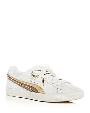 Puma Women's Clyde Low-Top Sneakers