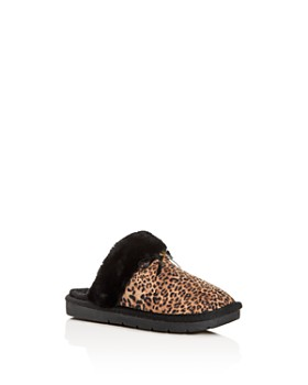 Michael Kors - Girls' Margot Comfy Leopard Print Slippers - Toddler, Little Kid, Big Kid