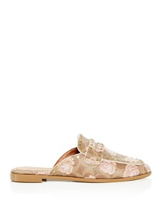 COACH - Women's Fiona Floral Loafer Mules