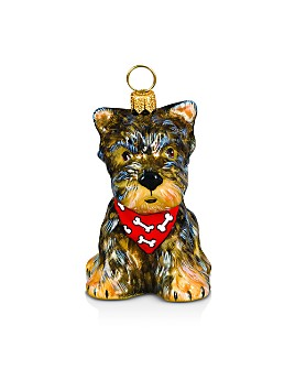 Joy to the World - Yorkshire Terrier Ornament