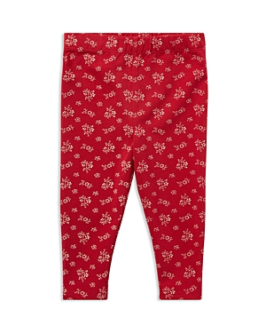 Ralph Lauren Girls' Floral Printed Legging - Baby