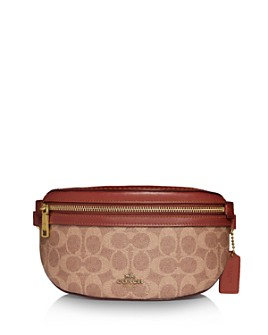 COACH - Coated Canvas Signature Belt Bag