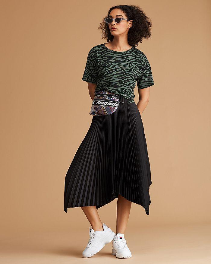the best best online amazing selection LNA Zebra Stripe Tee, Whistles Midi Skirt & More | Bloomingdale's
