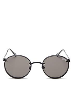 Quay - Women's QUAY X ELLE FERGUSON Farrah Round Sunglasses, 48mm