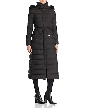 Herno Hooded Fur Trim Long Parka - 100% Exclusive-Women