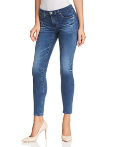AG - Ankle Denim Legging Jeans in 11 Years Contemplate