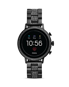 Fossil - Venture HR Black Touchscreen Smartwatch, 40mm