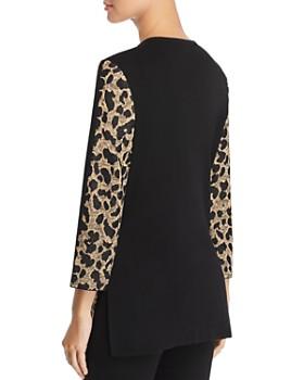 Misook - Leopard Print Cardigan