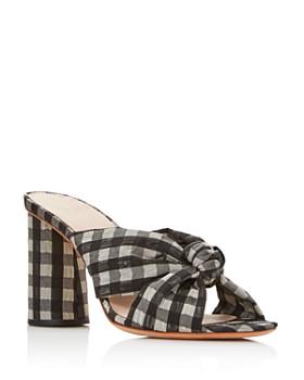 98fb23a88b12c Loeffler Randall - Women s Coco Gingham Print High-Heeled Sandals ...