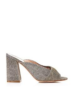 Loeffler Randall - Women's Laurel Knotted Glitter High-Heel Sandals
