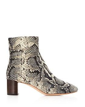 Loeffler Randall - Women's Gema Graphite Zip-Up Booties