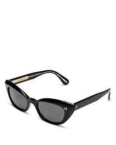 Oliver Peoples - Women's Bianka Polarized Cat Eye Sunglasses, 51mm