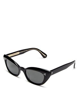 Oliver Peoples - Women's Bianka Polarized Cat Eye Sunglasses, 51mm