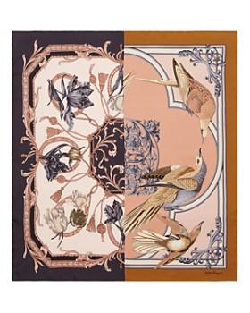 Salvatore Ferragamo - Charlotte Patchwork-Print Silk Scarf