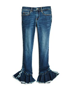 BLANKNYC - Girls' Ruffled-Hem Skinny Jeans - Little Kid, Big Kid