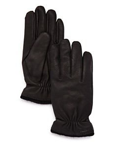 Hestra - Samuel Knit-Trimmed Leather Gloves