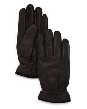Hestra - Samuel Knit-Trimmed Leather Gloves